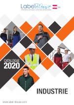 Catalogue vêtement de travail pour métier de l'industrie