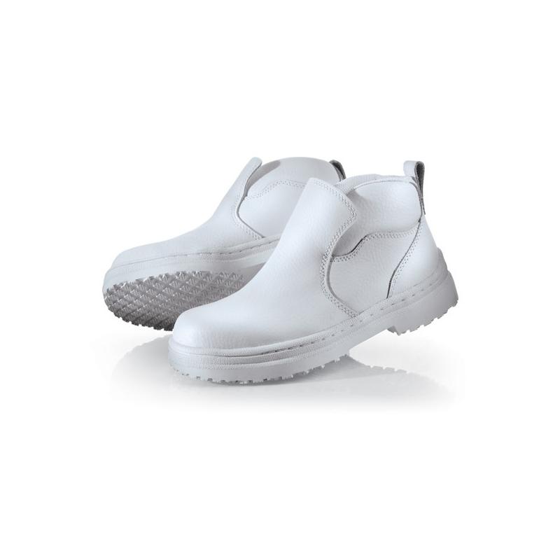 Chaussure De Securite Pour Cuisine Blanche Label Blouse Net