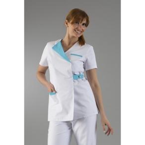 Tenue infirmière blanche IRA002T
