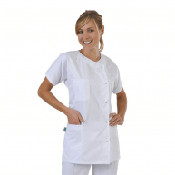 Tunique médicale blanche Julia