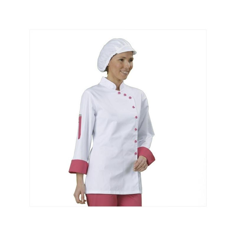 veste cuisine femme woco01t woco01t collection v tement de cuisine. Black Bedroom Furniture Sets. Home Design Ideas