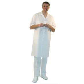 Blouse blanche manches courtes