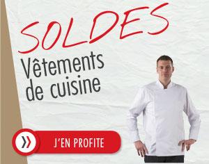 Vêtements de cuisine en Soldes