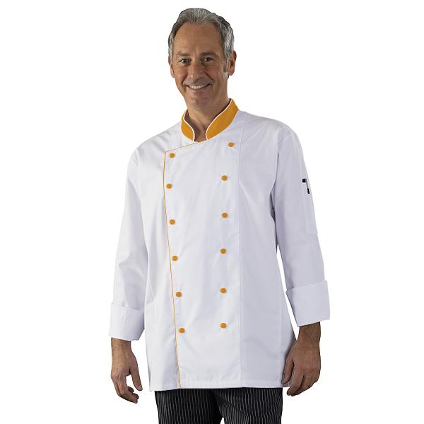 Personnalisation Veste de cuisine Homme a personnaliser - Boutons ...