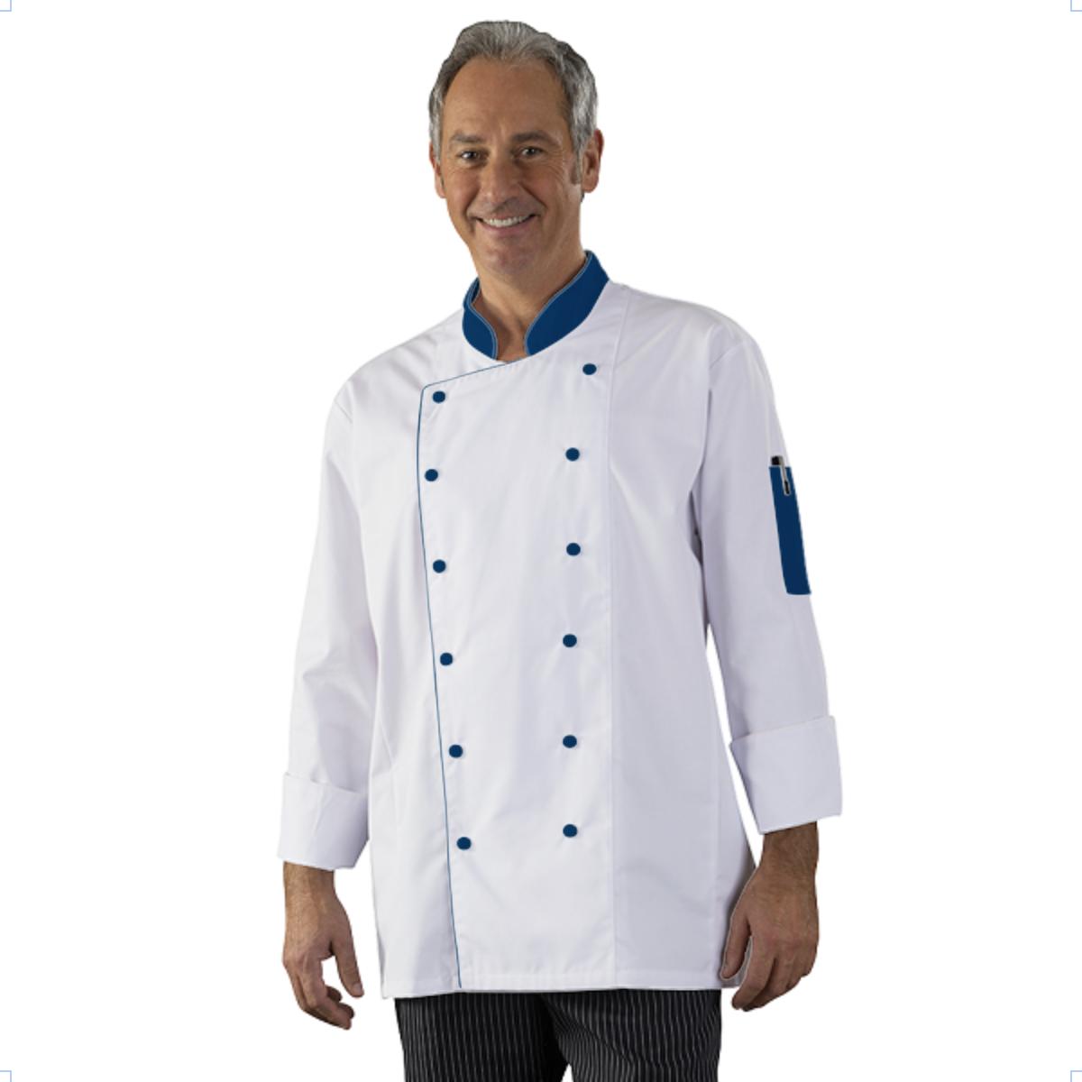 Personnalisation Veste De Cuisine Homme A Personnaliser Boutons - Veste de cuisine personnalisée