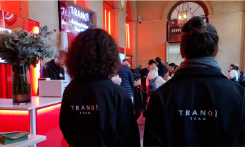 Tranoi Team - Broderie sur sweat