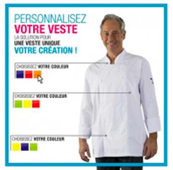 Veste de cuisine broderie offerte large collection - Broderie veste de cuisine ...