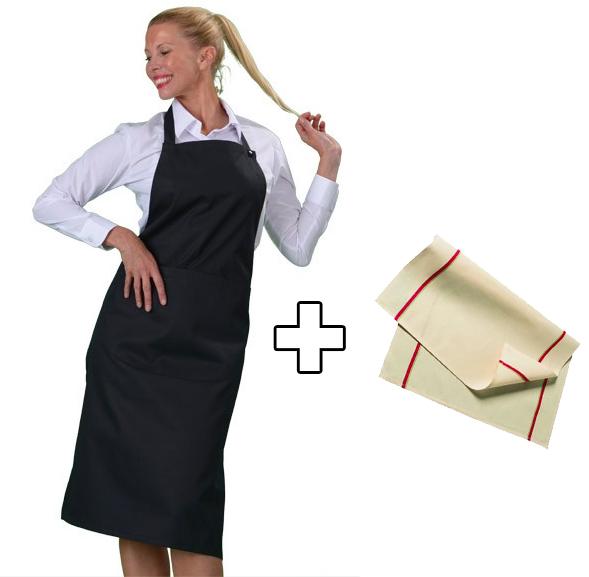 Tablier de cuisine pour professionnel et particulier - Tabliers blouse et torchons de cuisine ...
